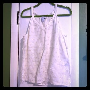 Linen Gold Bicycle Tank Top